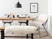 Schaffell weiß 100 110 cm
