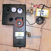 Solaranlage Pumpe und Regelung mit