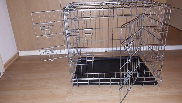 Hundekennel klein Transportbox Tierkäfig