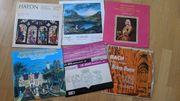 Langspielplatten LP s Klassische Musik