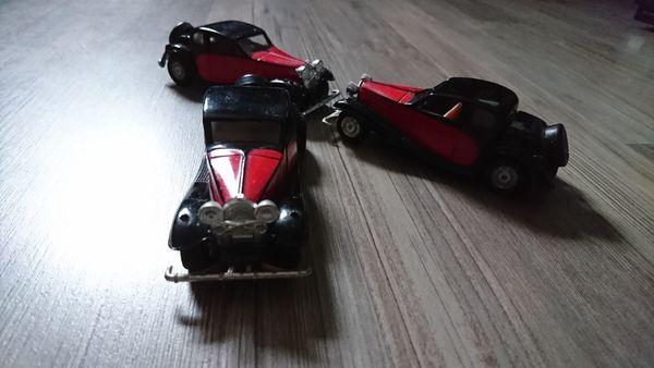 3x Bugatti T 50 1930