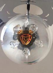 Mazzega Lampe Kronleuchter Murano Glas