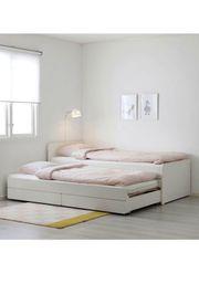 IKEA Einzelbett unterbett weiß sehr