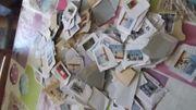 Über 1000 Gramm handverlesene Briefmarken