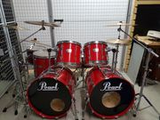 Pearl all birch Doublebass Set