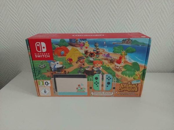 Nintendo Switch limited Edition Animal Crossing