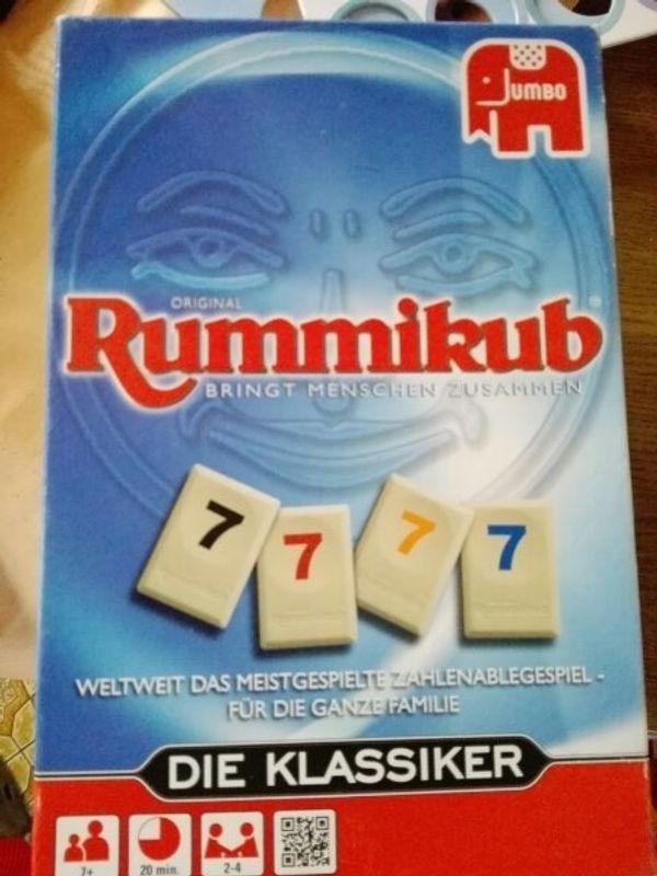 Spiel Rummykub Große Spielsteine