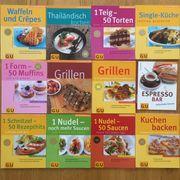 Kochbücher von GU