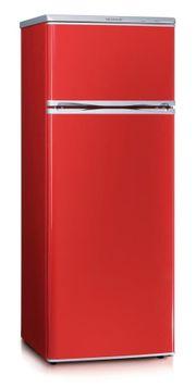 SEVERIN KS 9795 rot Kühl-Gefrier-Kombination