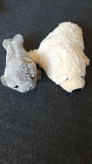 neu Kuscheltiere Robben Pärchen neu