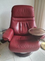 Stressless Sessel und Hocker 1