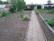 Garten und Gartenlaube