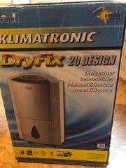 Entfeuchtungsgerät Klimatronic Dryfix