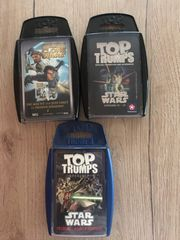 3 Star Wars TOP Trumps