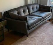 2 5 Sitzer Sofa Samt