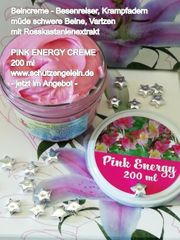 PINK ENERGY abends geschwollene Knöchel