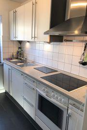 Schöne Bosch Küche weiß matt