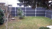 Garten WPC Zaun Neuwertig