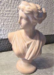 Büste Statur Skulptur Keramik