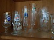 Biergläser Sammlerstücke