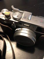 Fuji fujifilm x100f mit reichlich