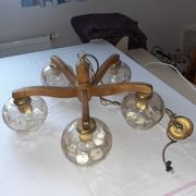Rustikale Lampe
