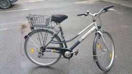 Torrek City100 silber blaues Damenfahrrad: Kleinanzeigen aus Karlsruhe Daxlanden - Rubrik Damen-Fahrräder