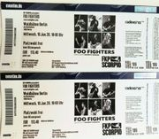 Tickets Foo Fighters Berlin 08