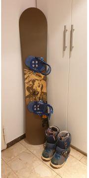 Neuwertiges Snowboard von Nitro mit