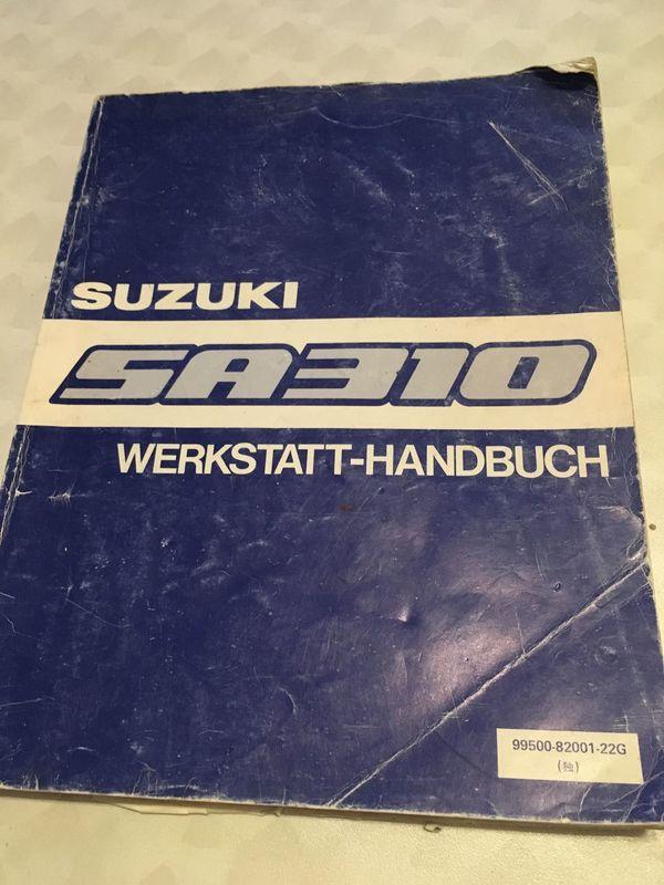 Suzuki SA310 - Werkstatthandbuch