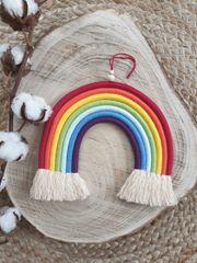 Makramee Regenbogen handmade