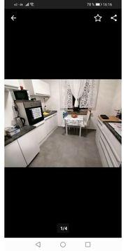Küche Hochglanz weiß
