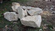 Bruchsteine Natursteine Trockenmauer Findlinge Gartenmauer