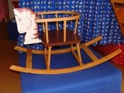Holz-Schaukelpferd 1 - 3 Jahre