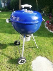 Weber Kugelgrill blau 47 cm