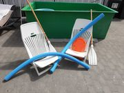 Strandstühle und Zubehör