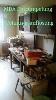 Entrümpelung Wohnungsauflösung Haushaltsauflösung aller Art