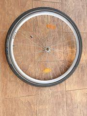Fahrrad Vorderrad 28 Schürmann Alufelge