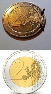 Euro Münze Fehlprägung