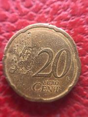 20 cent Münze 2007 Spanien -