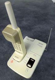 SONY Schnurlostelefon mit Anrufbeantworter