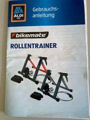 Bikemate Rollentrainer grau