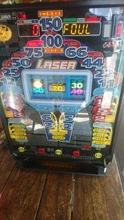 Geldspielautomat Merkur Laser