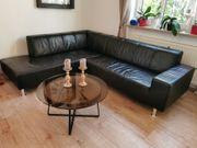 Echtleder-Couch