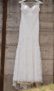 Brautkleid Meerjungfrau Stil - Größe 36
