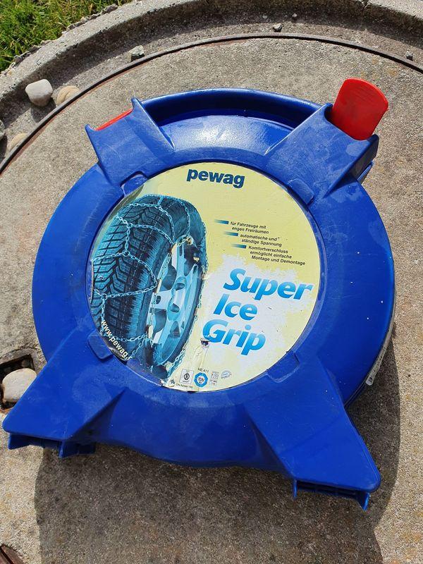 Peway Schneeketten Super Ice Grip -