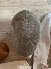 Retro Fechtmaske von Uhlmann
