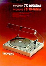 Thorens TD 105 MK II