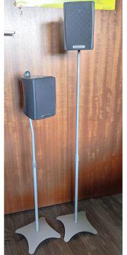 Lautsprecherständer Boxenständer höhenverstellbar 1 Paar