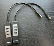 2x 4-Port USB 3 0